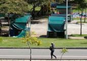 Parques registram movimento tranquilo após reabertura | Raul Spinassé | Ag. A TARDE