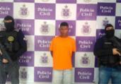 Preso suspeito de tráfico de drogas que torturava rivais | Divulgação | SSP BA