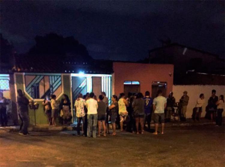 Crime aconteceu na travessa São Lourenço, no bairro Sobradinho, em Feira de Santana