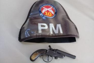 Estudante de 13 anos é apreendido com arma dentro de escola municipal | Divulgação | SSP-BA