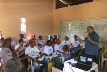 Agricultores rurais de Mata de São João participam de capacitação