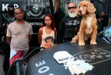 Polícia desmonta bar utilizado para distribuir drogas em São Caetano   Reprodução   SSP BA