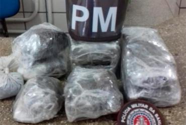 Dupla é presa e adolescente apreendido com drogas em Texeira de Freitas | Divulgação | SSP