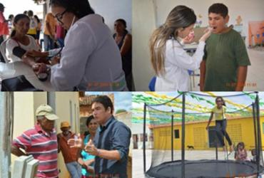 Comunidade do Mandacarú, em Canudos, recebe ações do projeto Prefeitura Itinerante