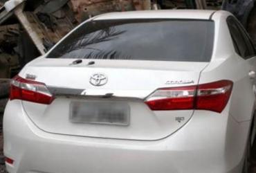 Carro roubado em Salvador é recuperado em Santo Estevão | Divulgação | SSP-BA