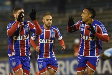 Bahia empata com Cerro e conquista classificação inédita na Copa Sul-Americana | Miguel Rojo l AFP