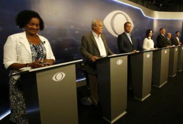 O primeiro debate deu o tom do jogo: todos contra Rui ou vice-versa | Adilton Venegeroles | Ag. A TARDE