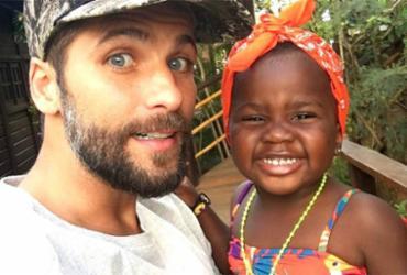 Giovanna Ewbank homenageia Bruno Gagliasso no dia dos pais | Reprodução | Redes Sociais