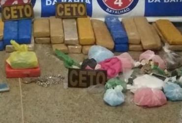 Mulher é presa com drogas avaliadas em R$ 1 milhão em Alagoinhas | Divulgação | SSP