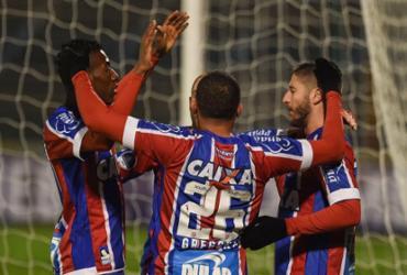 Veja imagens de Atlético Cerro x Bahia pela Copa Sul-Americana |
