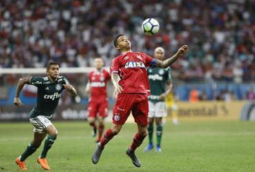 Veja imagens de Bahia x Palmeiras pela Copa do Brasil |