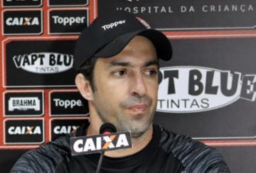Técnico do Vitória tenta explicar goleada e despista sobre futuro | Maurícia da Matta | Divulgação | E. C. Vitória