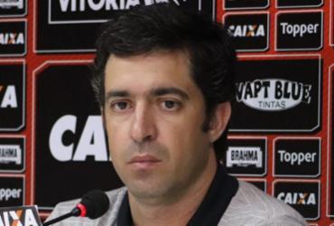 Técnico interino elogia atuação do Vitória e despista sobre continuidade | Maurícia da Matta | Divulgação | Vitória