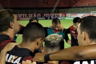 Vitória duela com Palmeiras na estreia de Carpegiani | Divulgação | E. C. Vitória