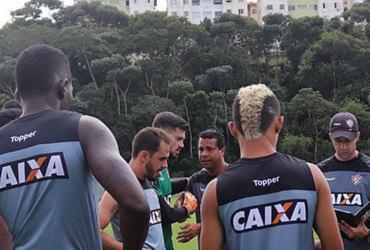 Com técnico interino no comando, elenco do Vitória volta aos treinos | Maurícia da Matta | E. C. Vitória | Divulgação