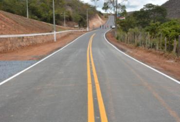 Chapada Diamantina recebe serviços de pavimentação