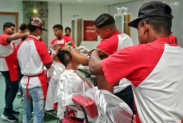 Ação oferece serviços gratuitos na Fonte Nova   Divulgação