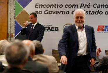 Jaques Wagner e João Leão comentam as composições políticas na Bahia e no País | Raul Spinassé l Ag. A TARDE