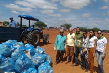 Prefeitura de Canudos promove mutirão de limpeza no Bairro Aeroporto