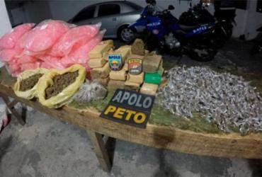 Vinte mil pinos para cocaína são apreendidos em Salvador | Divulgação | SSP-BA