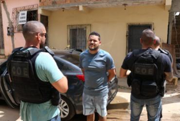Alvo de megaoperação é preso em Pernambués | Divulgação | SSP-BA