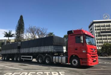 Actros 2651 tem tecnologia de sedã   Lhays Feliciano   Ag. A TARDE