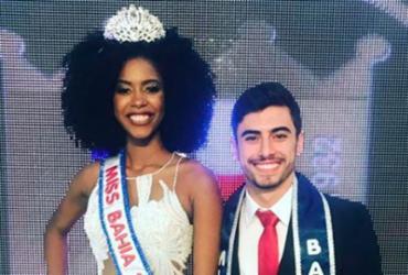 Adrielle Peixoto e Alexandre Chamusca são a Miss e o Mister Bahia 2018   Divulgação