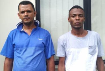 Falso motorista da Uber e comparsa são presos com drogas no subúrbio   Divulgação   SSP-BA