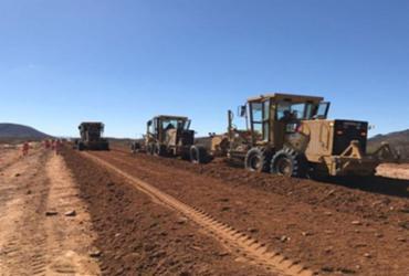 Restauração e pavimentação na BA-210 deverão ser concluídas em dezembro