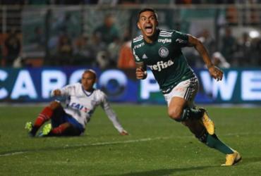Bahia joga bem, mas perde para o Palmeiras e se despede da Copa do Brasil