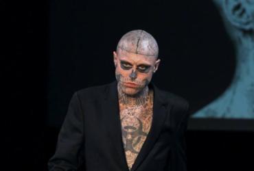 Modelo Rick Genest, o Zombie Boy, é encontrado morto aos 32 anos | Guillot l AFP