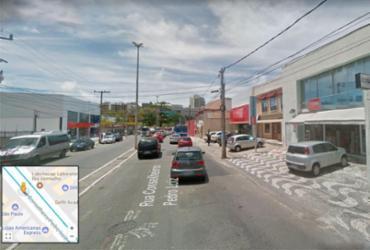 Homens fogem da polícia após arrombar loja no Rio Vermelho | Reprodução | Google Maps