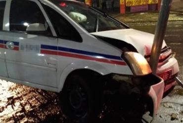 Travestis e homem são presos após assaltar e agredir taxista idoso   Divulgação   AMT