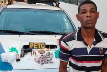 Suspeito de tentar matar homem é preso pela 16ª vez em Salvador   Divulgação   SSP-BA