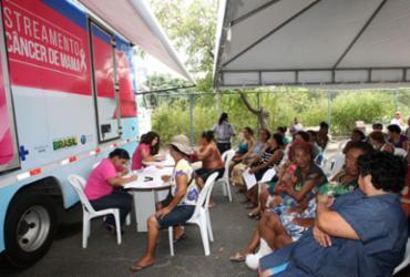 Mulheres da região de Brumado são atendidas pelo Saúde sem Fronteiras