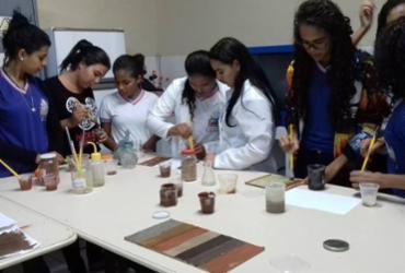 Tinta ecológica é desenvolvida por estudantes da Casa Nova
