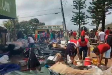 Exército diz que 1,2 mil venezuelanos saíram do Brasil após violência | Reprodução | Globo News