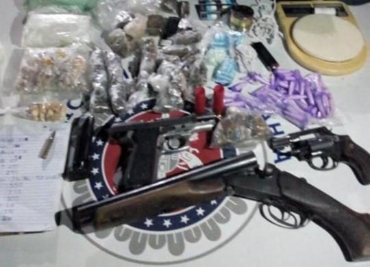 Dupla suspeita de homicídios morre após confronto em Alto de Coutos   Divulgação   SSP-BA
