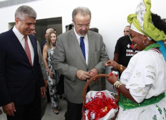 Em Salvador, ministro fala de combate ao crime organizado com integração   Divulgação   SSP_BA