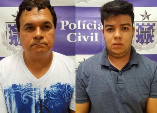 Presos homens que trocavam maconha paraguaia por carros roubados | Divulgação | SSP-BA
