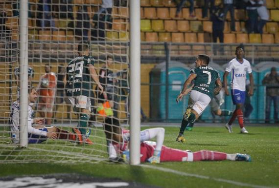 Bahia joga bem, mas perde para o Palmeiras e é eliminado nas quartas | Ale Frata l Estadão Conteúdo