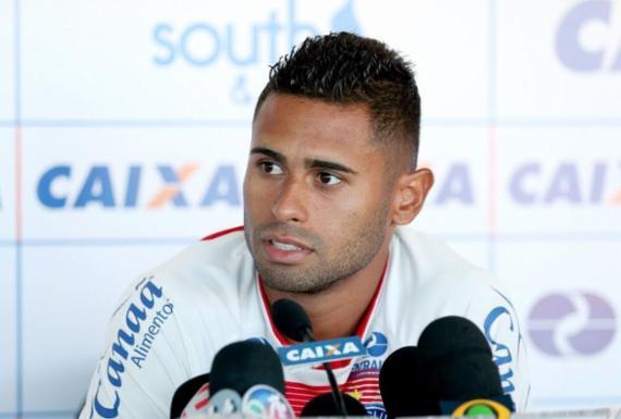 Tricolor oficializa rescisão de contrato e saída de atacante | Felipe Oliveira | Divulgação | E. C. Bahia