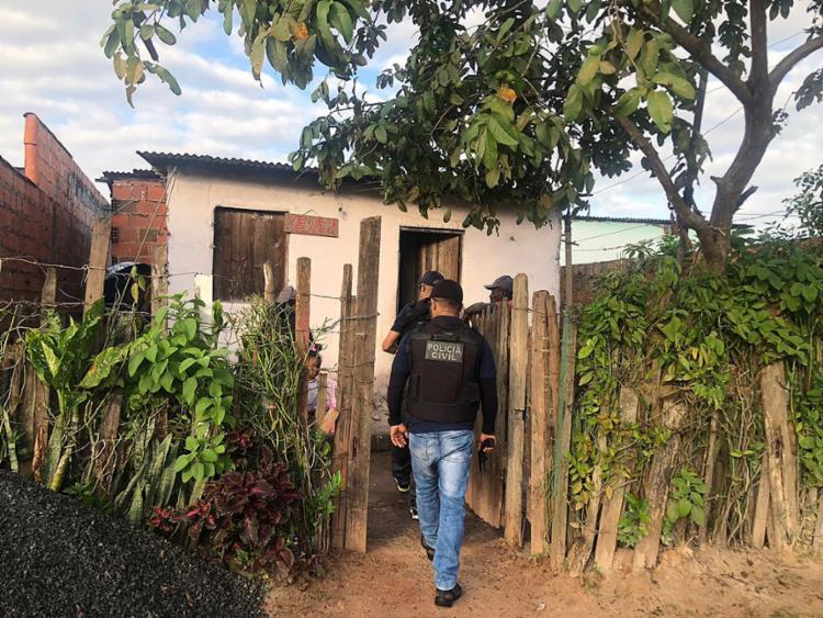 A operação contou com equipes de todos os departamentos da Polícia Civil da Bahia