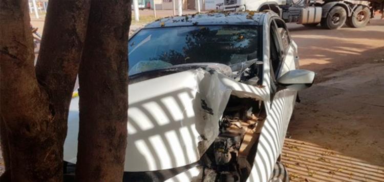 Envolvidos no acidente não possuíam ferimentos graves
