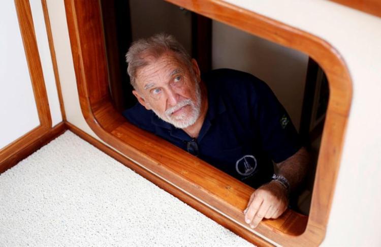 Aos 75 anos, o navegador Aleixo Belov completou cinco voltas ao mundo - Foto: Adilton Venegeroles / Ag. A TARDE