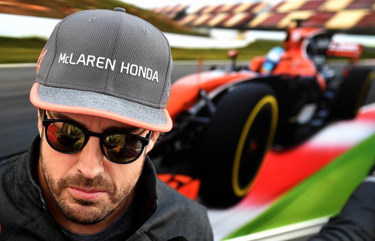 Genial e genioso, Fernando Alonso inicia contagem para a despedida - Foto: Andrej Isakovic l AFP