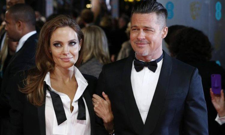 Angelina Jolie e Brad Pitt tiveram um relacionamento de 12 anos - Foto: Andrew Cowie   AFP