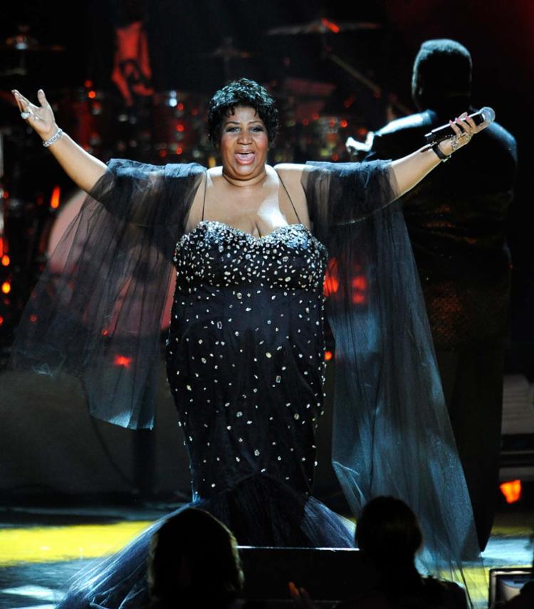 Aretha Franklin era conhecida como a