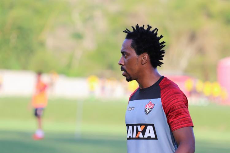 Volante deve ser titular na equipe que enfrenta o Flamengo - Foto: Divulgação   E. C. Vitória