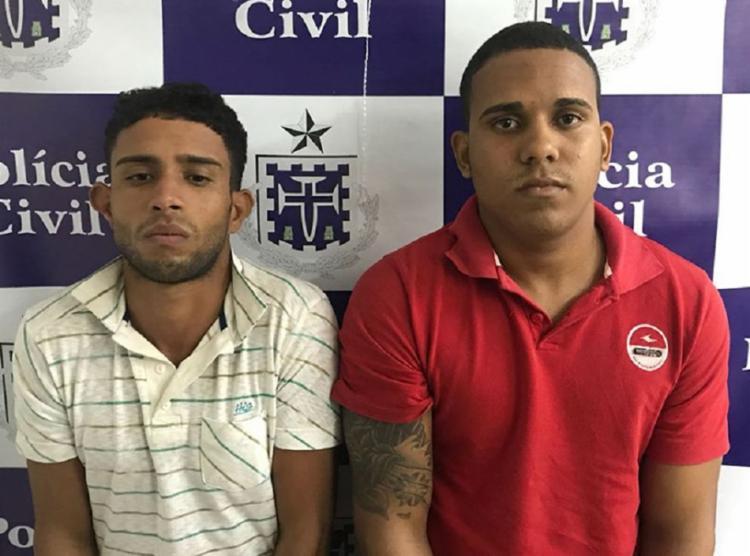 Eles foram presos nesta quarta-feira, 29 - Foto: Divulgação | Polícia Civil